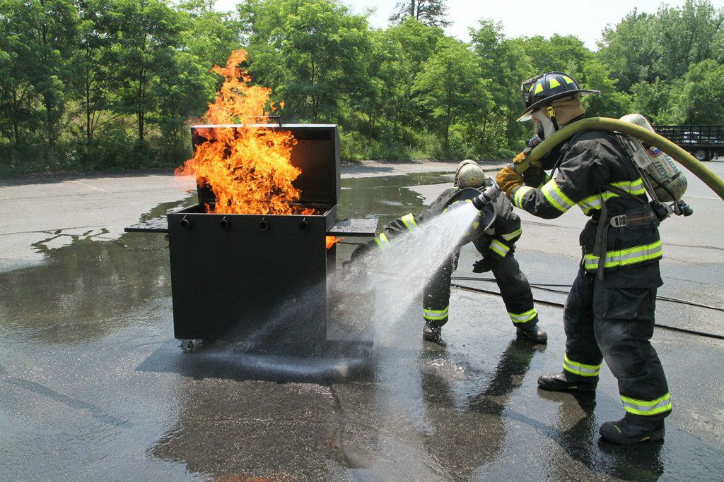 Barbeque Grill Fire Training Prop | Firefighter Training Props