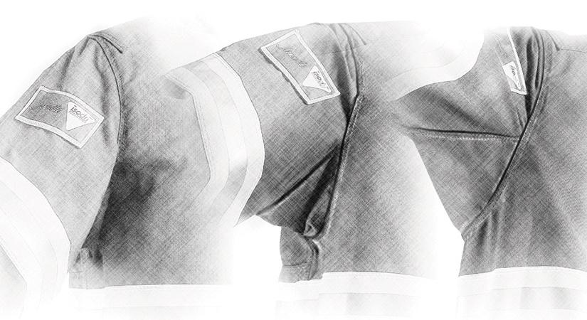Bellowed Underarm Construction