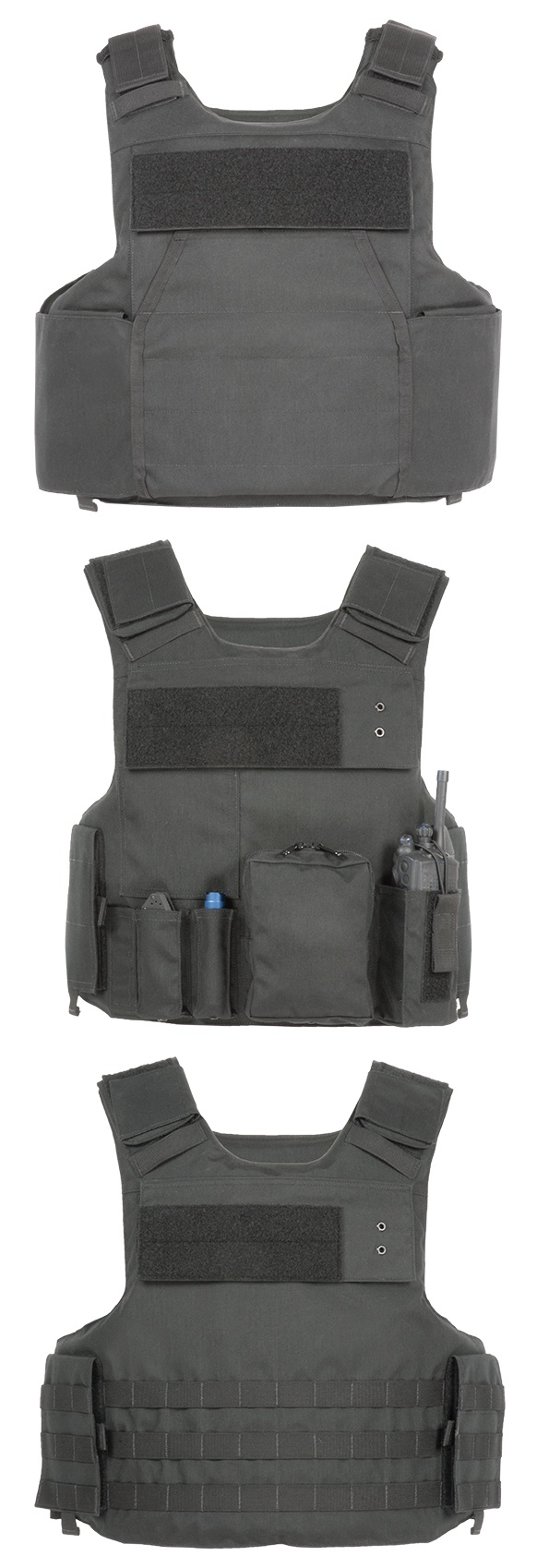 Soft Body Armor Carrier-Molle Style